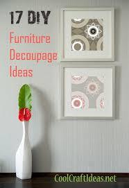 decoupage ideas for furniture. unique decoupage 17 diy furniture decoupage ideas throughout for