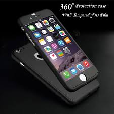 360 Degree Full Body Protection Cover Show Logo Case For iPhone 5