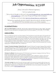 Resume Temporary Jobs Awesome Pretty An Example How To Write A