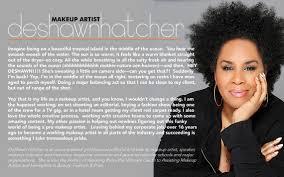 deshawn hatcher makeup artist bio