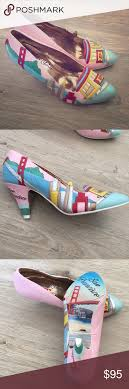 Irregular Choice Shoe Size Chart Never Worn Irregular Choice San Francisco Heels Never Worn