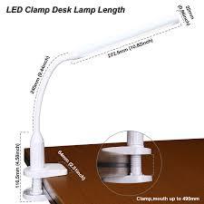 white led clamp desk lamp size lightbox moreview