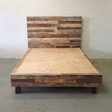 distressed wood bed. Unique Distressed Distressed Wood And Metal Furniture Bed  Frame In