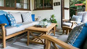 Outdoor Living Space Is What California Dreams Are Made OfCalifornia Outdoor Furniture