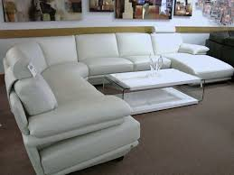 Small Picture White Leather Sofas For Sale RadiovannesCom