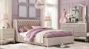 Sofia Vergara Petit Paris Champagne 4 Pc Twin Bedroom With Upholstered Bed   Teen Sets Colors Sofia Vergara Furniture D41