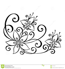 Small Picture decorative flower leaves beautiful vector patterned design