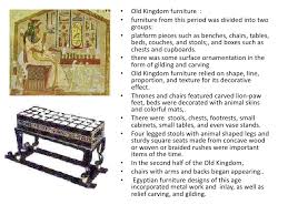 point furniture egypt x:   old kingdom furniture