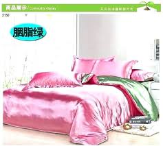 super king fitted sheet size in cm twin queen sizes pink green silk bedding set satin