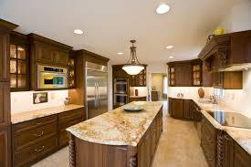 Kitchens With Granite Kitchen Countertops Home Depot Beautiful Dark Cherry Kitchen