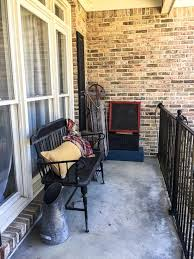 front porch furniture ideas. Ugly Porch Before Decor Front Furniture Ideas