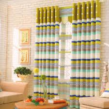 Striped Bedroom Curtains Curtain Promo Cheap Multi Color Curtains Near Me Multicolor