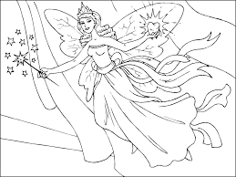 Coloring Pages For Adults Animals Flowers Printable Princess Fairy