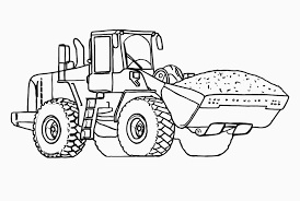 Small Picture Coloring Pages Tractor Coloring Pages Printable For Kids Tractor