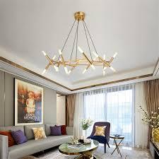 dutti d0044 nordic led chandelier living room modern european minimalist nestle creative bedroom dining room decoration