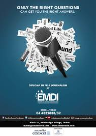 diploma in pr journalism emdi courses offered  diploma in pr journalism