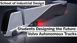 Best Industrial Design Programs Collaboration Industrial Design Volvo Autonomous Trucks Of The Future