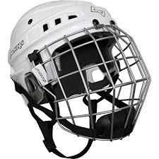 Alkali Visium Hockey Helmet Cage Combo