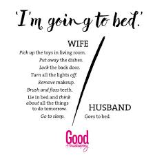 Housekeeping Quotes The difference between men and women Good Housekeeping 55