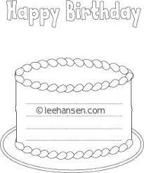 happy birthday cake shape paper lines birthday cake writing paper lines