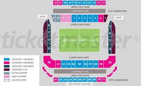 Mcdonald Jones Stadium Seating Map Austadiums