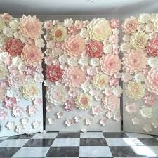 Paper Flower Wedding Backdrops Paper Flower Backdrop Rental Magdalene Project Org