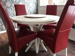 cream table and chairs dining table and chairs round cream table red leather chairs cream kitchen