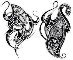 Prvky Návrhu Tetování Vektory Z Knihovny Clipartme