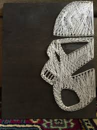 Star Wars, stormtrooper, string art | ...a galaxy far, far away ...