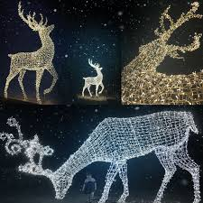 Outdoor Lighted Moose Outdoor Lighted Christmas Sculpture Lights Reindeer Moose Led For Lawn Decoration Ip65 Buy Outdoor Christmas Reindeer Lights Lighted Christmas