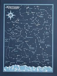 Northern Hemisphere Constellation Chart Star Chart Northern Hemisphere