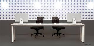 fantoni office furniture. TRE White 2 Person Long Desk Fantoni Office Furniture