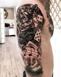 Tattoos Casino Designs No Photo Description Available Casino Tattoo Black Grey
