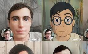 turn yourself into a cartoon stickers