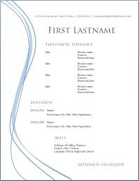 What Needs To Be On A Resume Free Resume Template Resume Format Word