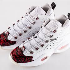 reebok question mens. reebok question mid prototype with white/red/black + au9116791 high discount mens
