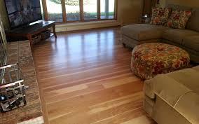 custom hickory wide plank flooring installation milwaukee