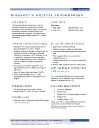 Sonographer Resume Resume Templates