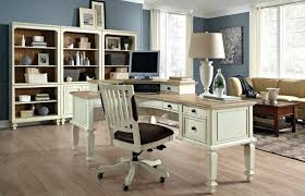 white wood office furniture. Plain Office Antique White Home Office Furniture Desk  Wood Ideas Throughout
