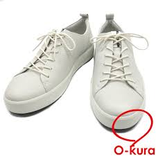 echo sneakers men low frequency cut leather white white approximately 28cm 44 ecco deep
