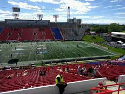 Mcmahon Stadium Section R Home Of Calgary Stampeders
