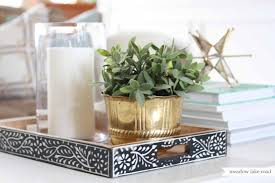 Decorating With Trays On Coffee Tables Unbelievable Decorative Coffee Table Trays How To Style Ideas 49