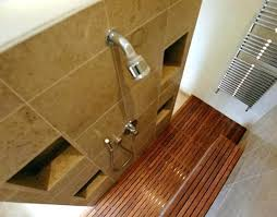 teak shower floor mat wood teak wood shower floor mats
