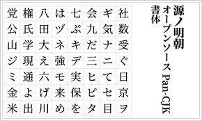 2018年用日本語のフリーフォント332種類のまとめ 商用サイトだけで