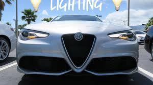 Alfa Romeo Stelvio Fog Lights 2017 Alfa Romeo Giulia Exterior Lighting