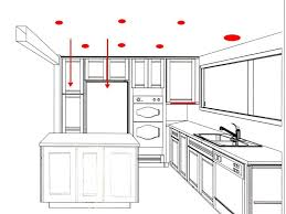 Pot Light Spacing Kitchen Kitchen Pot Lights Layout Pictures Lighting Design Of Brecessed