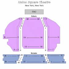 The Union Square Theatre Seating Chart Theatre In New York