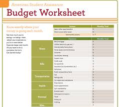 Budget Worksheets Budget Worksheets For Students The Best Worksheets Image Collection