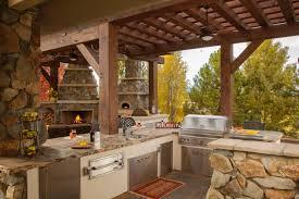 Rustic Outdoor Kitchens Rustic Outdoor Kitchen Images Cliff Kitchen