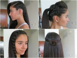 Very Easy Cute Hairstyles 5 Easy Braided Hairstyles For Summer 2013 Youtube